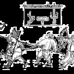 Schlacht-Formation in der Ming Armee