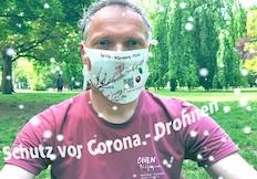 Bild Schutz vor Corona-Drohnen