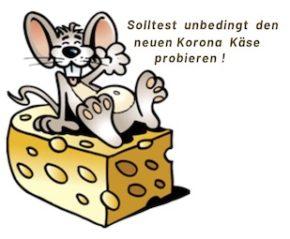 Korona Käse Maus klein
