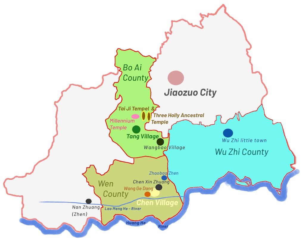 Regierungs-Präfektur 焦作 Jiaozuo