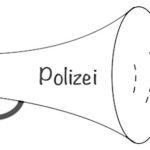 Speaker für Polizei durchsage