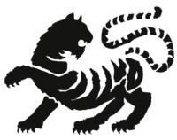 """Bild Tiger-Logo von """"Die Pagode"""""""