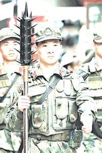 Wolfszahn Streitkolben - Revival für Polizei in China (Teil 2)