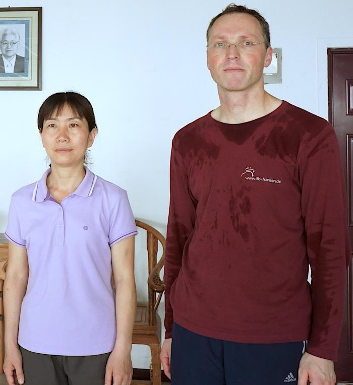 Studienaufenthalt bei Chen Peiju in Zhengzhou