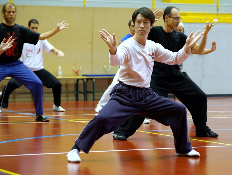 Chen Pei Shan im Workshop